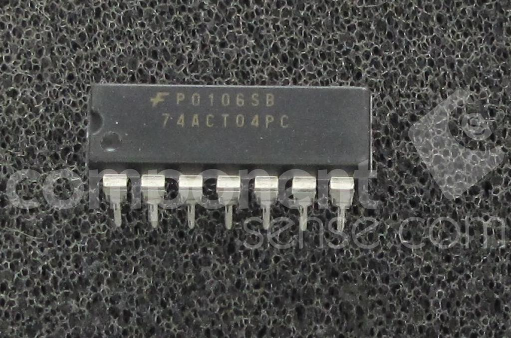 74ACT04PC Fairchild Semiconductor, National Semiconductor (NSC