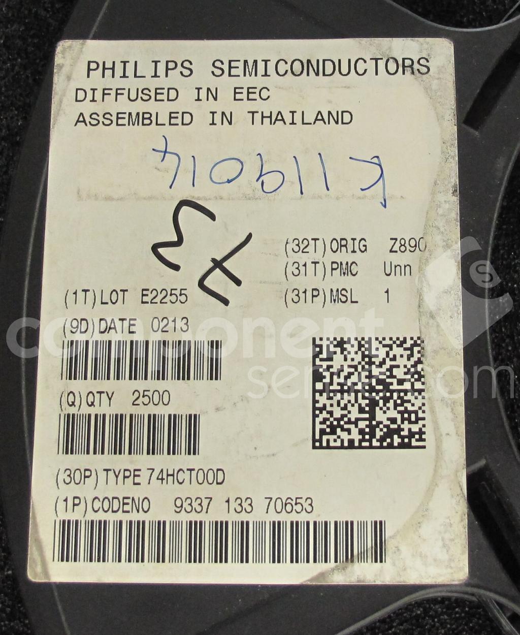 74HCT00D Philips   Component Sense